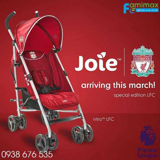 Xe đẩy du lịch Joie Nitro LFC Red Crest