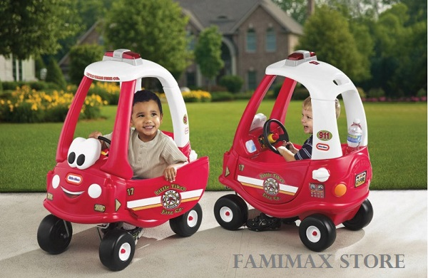 Xe chòi chân Little Tikes Ride 'n Rescue Cozy Coupe