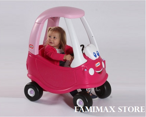 Xe chòi chân Little Tikes Princess Cozy Coupe Magenta