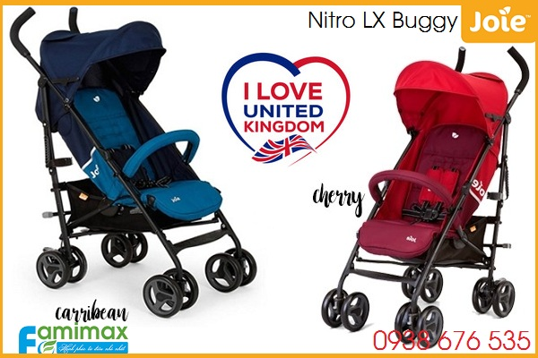 Xe đẩy du lịch Joie Nitro LX Buggy