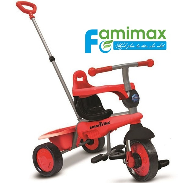Xe đạp 3 bánh Smart Trike Breeze 3 in 1 Red