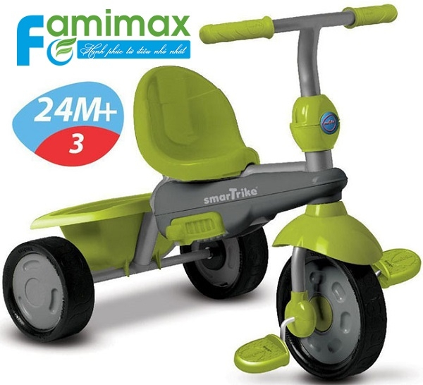 Xe đạp 3 bánh Smart Trike Breeze 3 in 1 Green