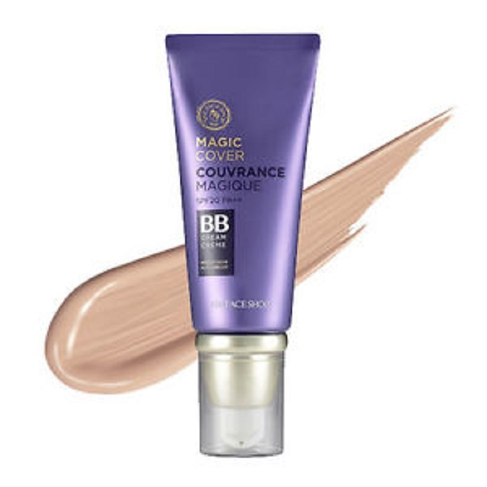 Kem nền THEFACESHOP BB Cream Face It Magic Cover 45ml