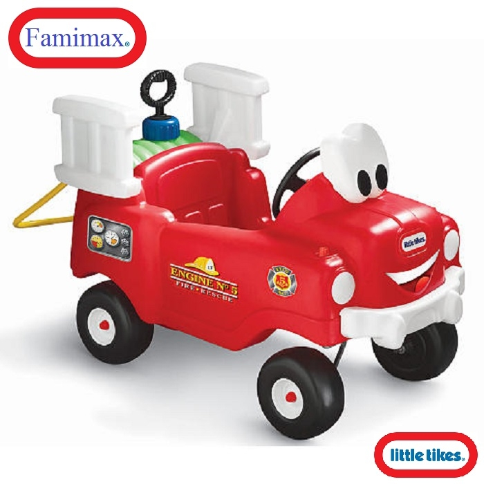Xe chòi chân Little Tikes Spray 'n Rescue