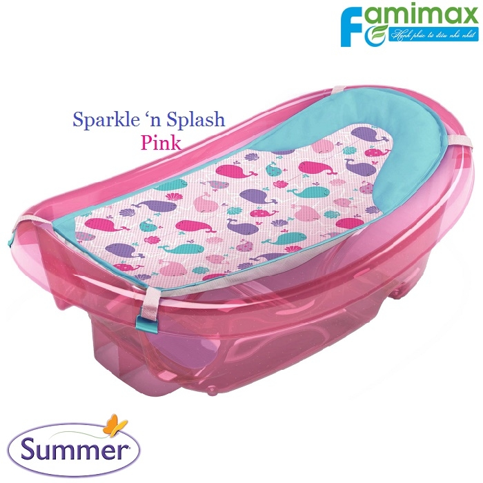 Chậu tắm Summer Sparkle 'n Splash Newborn