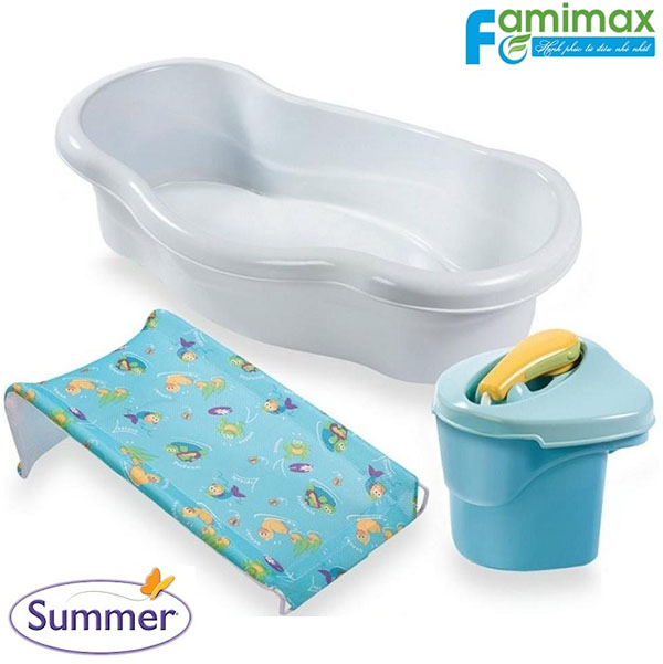 Chậu tắm Summer Newborn to Toddler Bath and Shower Center