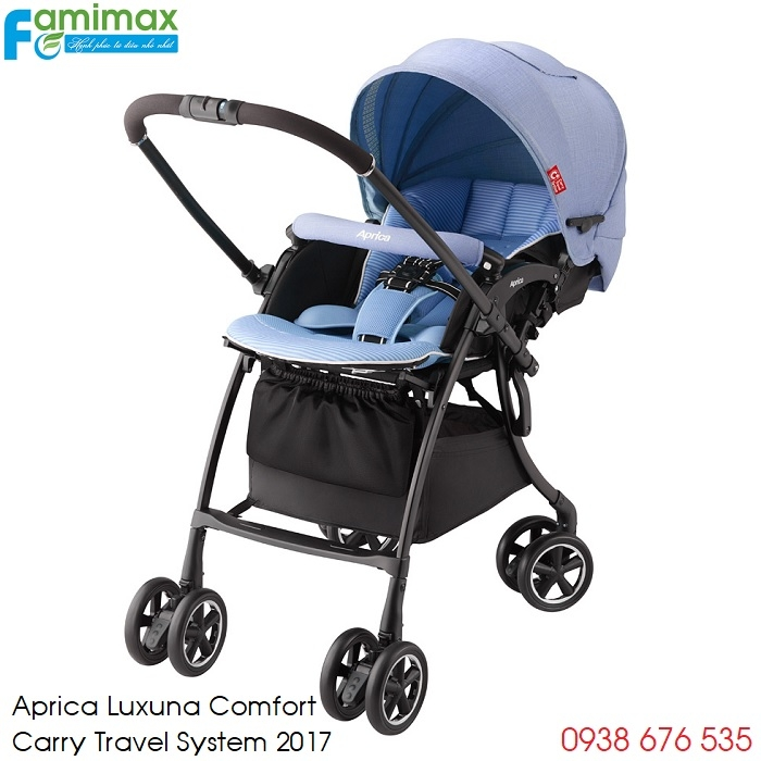 Xe đẩy Aprica Luxuna Comfort CTS