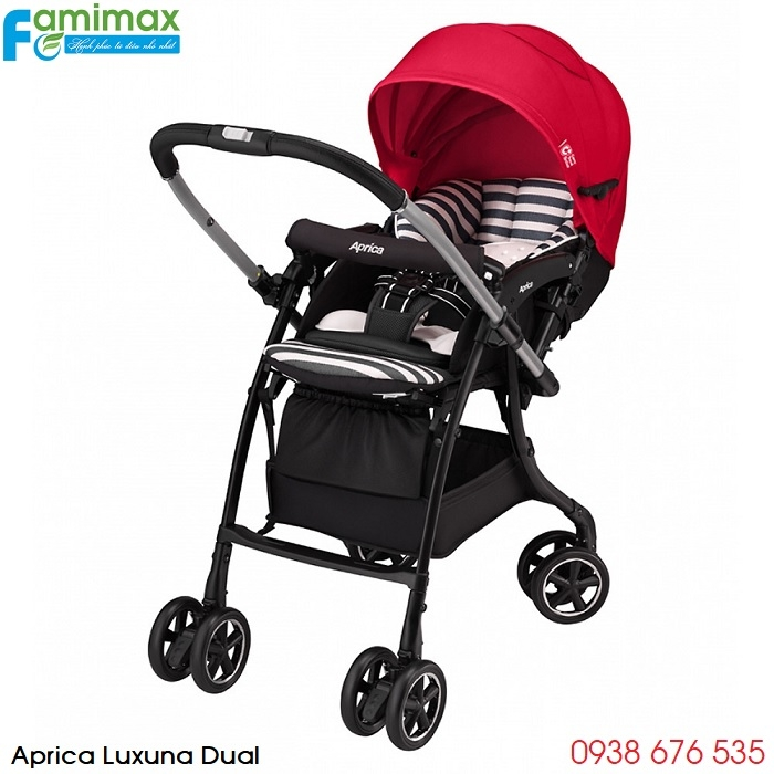 Xe đẩy Aprica Luxuna Dual CTS