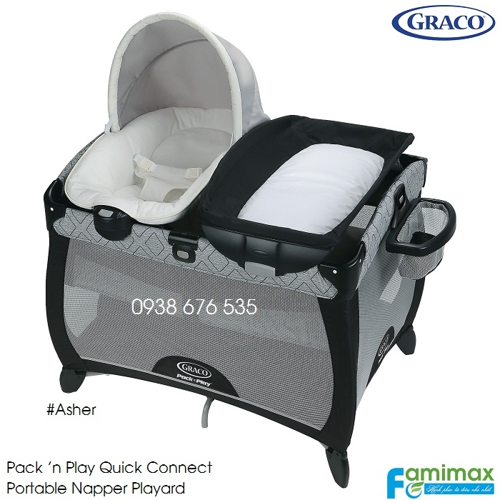 Nôi em bé Graco Quick Connect Portable Napper