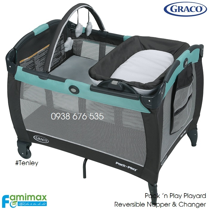 Nôi chơi Graco PNP Reversible Napper & Changer