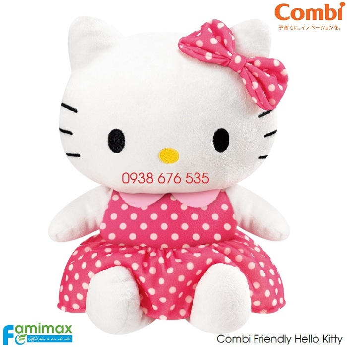 Thú nhồi bông Combi Friendly Hello Kitty