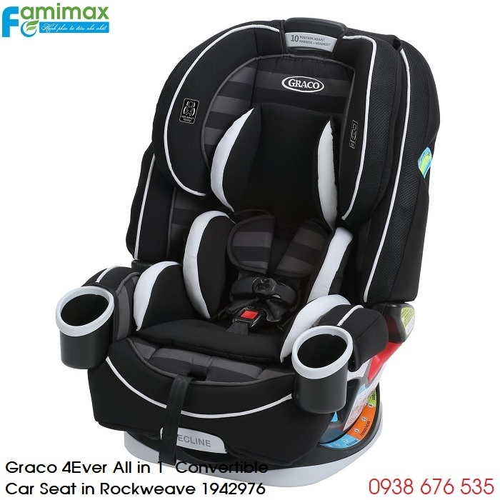 Ghế ngồi ô tô Graco 4Ever 4-in-1 Convertible