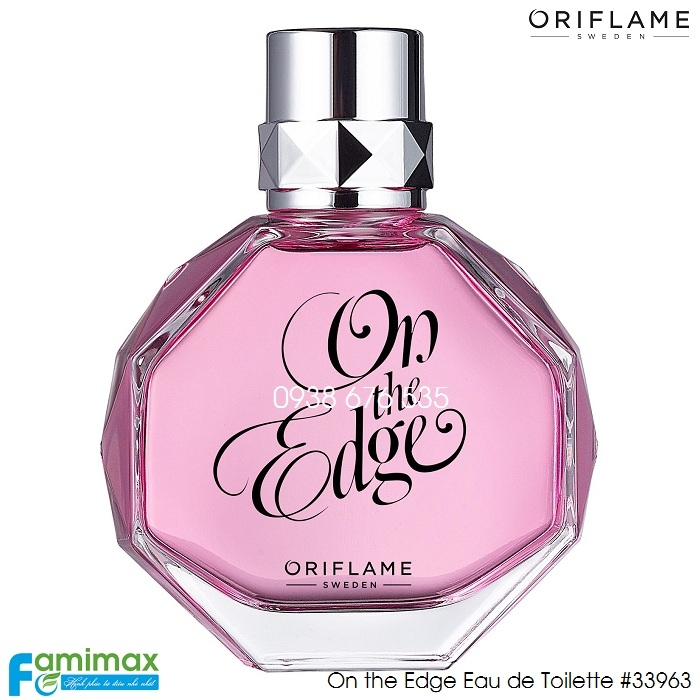Nước hoa nữ Oriflame On the Edge Eau de Toilette
