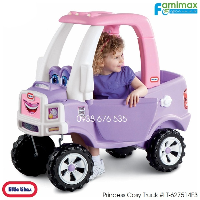 Xe chòi chân Little Tikes Cozy Truck Ride-On