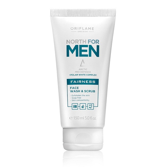 Sữa rửa mặt North For Men Fairness Face Wash & Scrub
